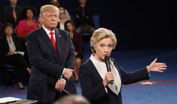 Debate Game Hillary Donald